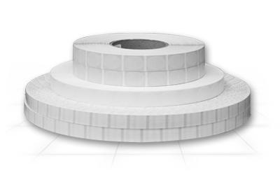 clear flex poly tabs individual rolls